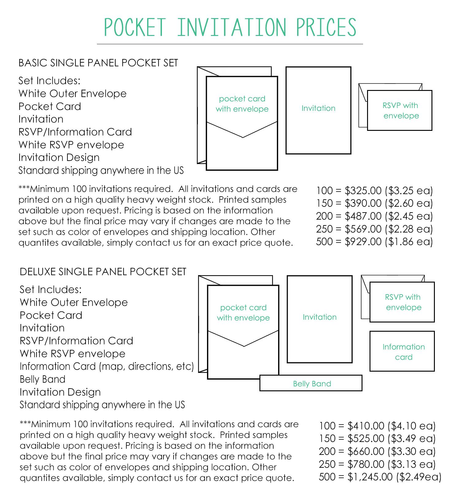 pocket wedding invites jeneze designs page 3