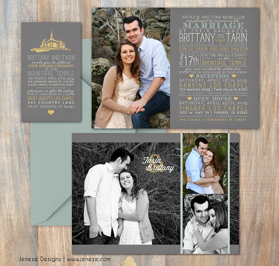 lds wedding invitation wording ring ceremony. lds wedding, Wedding invitations