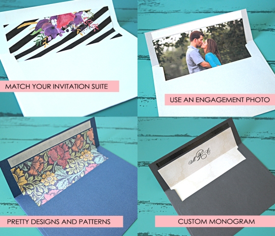 Custom Envelope Liner Ideas