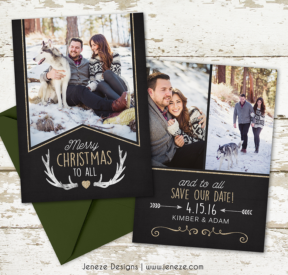 these save the dates are perfect sd103
